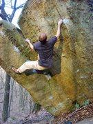 Rock Climbing Photo: Squeeze!!!