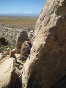 Rock Climbing Photo: Brewser...again