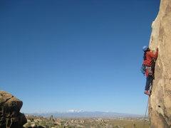 Rock Climbing Photo: Al on Brewser