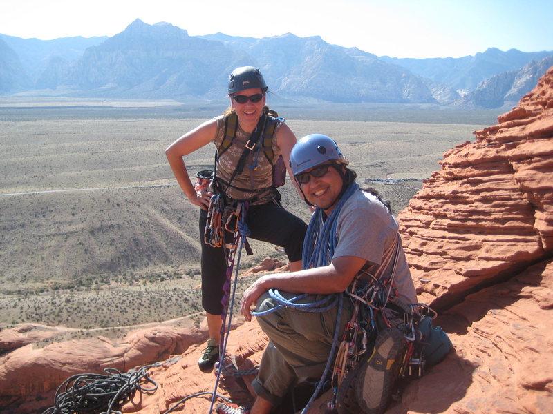 Rock Climbing Photo: Me & Albert