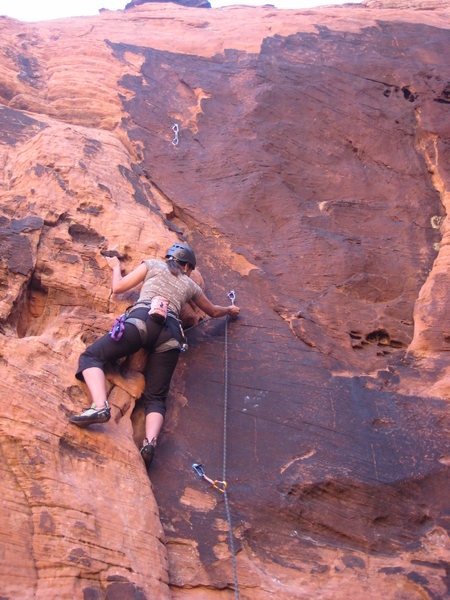 Me leading an un-named 5.9