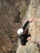 Rock Climbing Photo: End of Horseman. Quite steep for 5.5