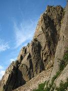 Rock Climbing Photo: The Whitney Gilman Ridge, Cannon, NH.