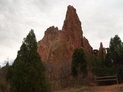 Rock Climbing Photo: Montezuma Tower. A sick climb!