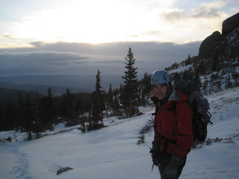 Rock Climbing Photo: An early morning on Pike's Peak.