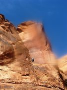 Rock Climbing Photo: A nice blurry view of Enigma Campground Route. It ...