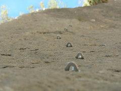 "Rock Climbing Photo: The open project ""Black Slabbeth"" just r..."