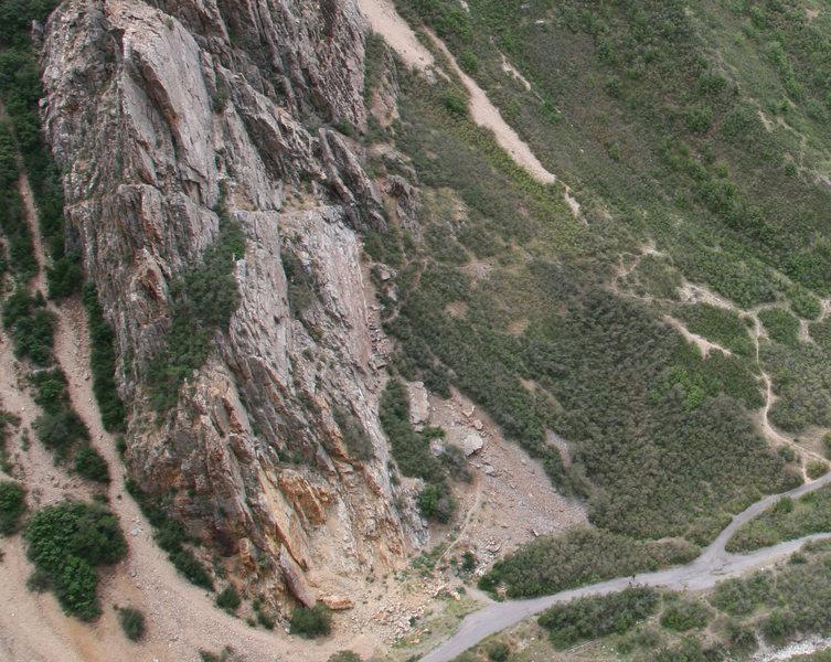 Rock Climbing Photo: Taken June 11, 2007