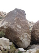 Rock Climbing Photo: Love goes up the center of the brown face then up ...
