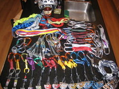 Rock Climbing Photo: The Rack.One year ago. It has actually grown tons,...