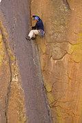 Rock Climbing Photo: steven phillips onsiting Coati Corner