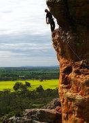 Rock Climbing Photo: Joss on Muldoon (13***).
