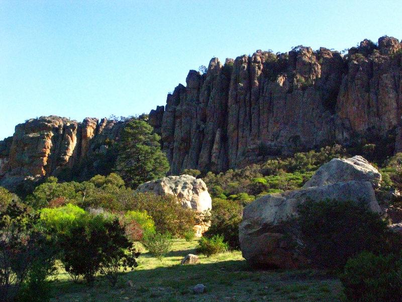 Rock Climbing Photo: The Organ Pipes