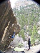 Rock Climbing Photo: Wills A Fire