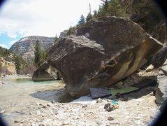 Rock Climbing Photo: High Tide