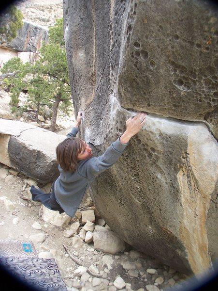 Rock Climbing Photo: Resident Evil