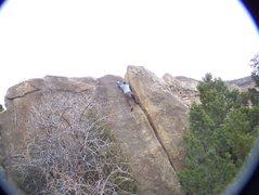 Rock Climbing Photo: Buoux Crack