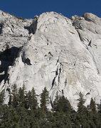 Rock Climbing Photo: Whitney Portal Buttress. Photo by Blitzo.