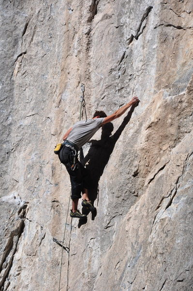 conflict 12b, potrero chico<br> photo taken by Mark Rowan