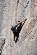 Rock Climbing Photo: conflict 12b, potrero chico photo taken by Mark Ro...