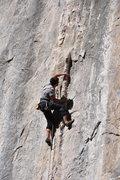Rock Climbing Photo: conflict 12b, potrero chico photo taken by Mark Ro...