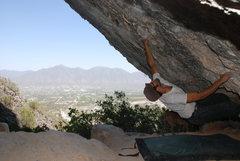 Rock Climbing Photo: plutonia cave, no name? v5 - potrero chico  photo ...