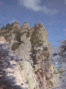 Rock Climbing Photo: Redgarden reflection....