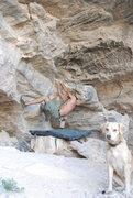 Rock Climbing Photo: plutonio cave - potrero chico