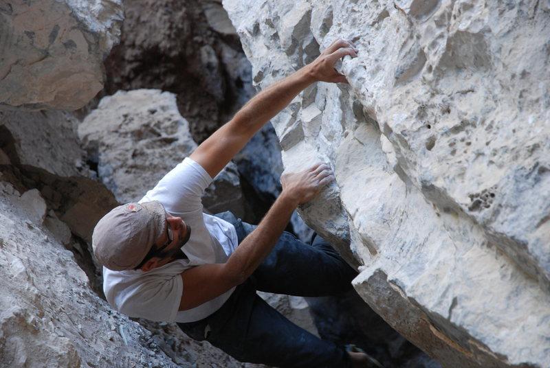 Rock Climbing Photo: plutonio cave - potrero chico  taken by cody thoma...