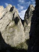 Rock Climbing Photo: XL Puff Sneaker 11d - potrero chico  taken by alys...