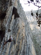 Rock Climbing Photo: catching my breath in el salto  taken by alysha