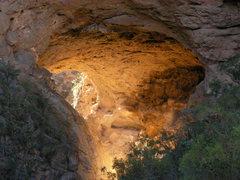 Rock Climbing Photo: puente de dios   taken by alysha