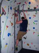 Rock Climbing Photo: Working the corner...