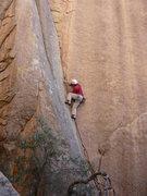Rock Climbing Photo: Midway up the awesome Coati Corner.
