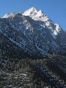 Rock Climbing Photo: Lone Pine Peak. Photo by Blitzo.
