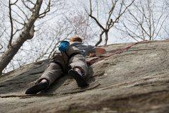 Rock Climbing Photo: Jon on Jodi.  The small incuts and ridges are grea...