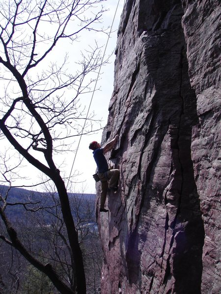 Rock Climbing Photo: John Dobbe on Acid