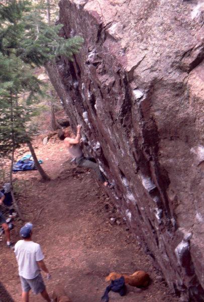 Rock Climbing Photo: Maroon Block hb
