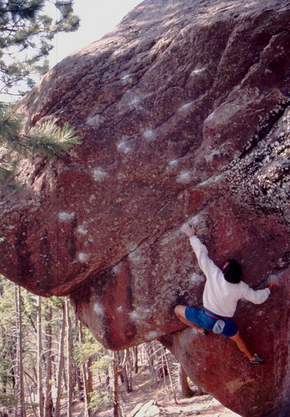 Rock Climbing Photo: The Surf xhb, Gigantor Roof xxhb is in the under b...