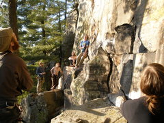 Rock Climbing Photo: Everyone having a great time at Hell Wall.