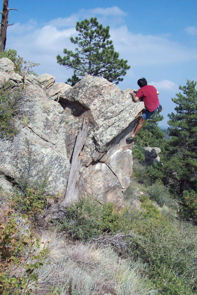 Rock Climbing Photo: Centennial Cone hb