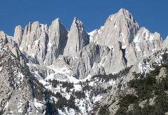 Rock Climbing Photo: Mt. Whitney. Photo by Blitzo.