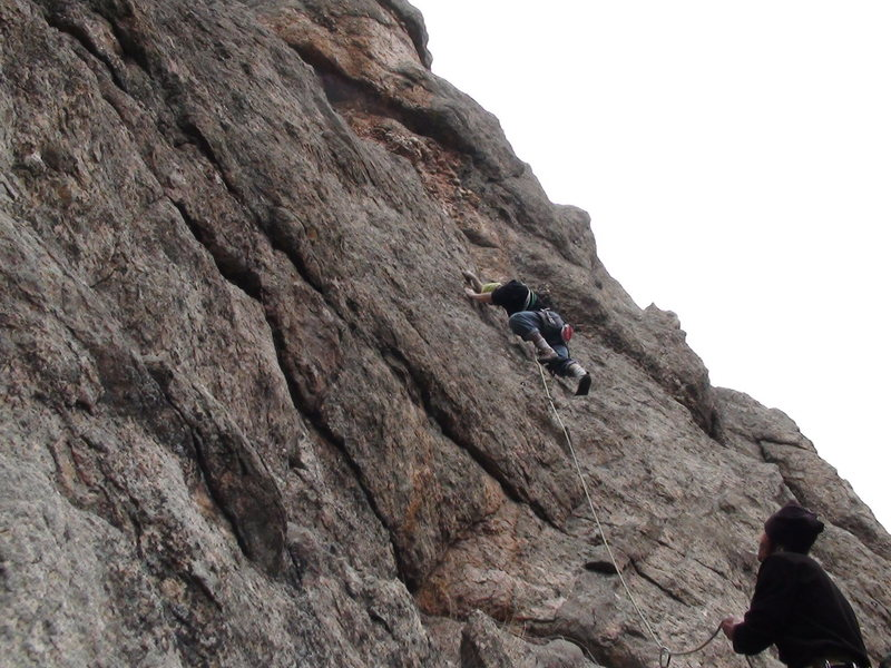 Rock Climbing Photo: These 3 climbs to the west won't draw me back.