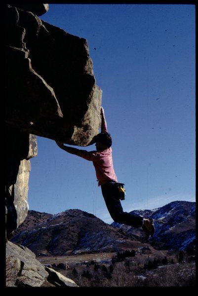 Rock Climbing Photo: Morrison hb