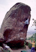 Rock Climbing Photo: Flagstaff hb