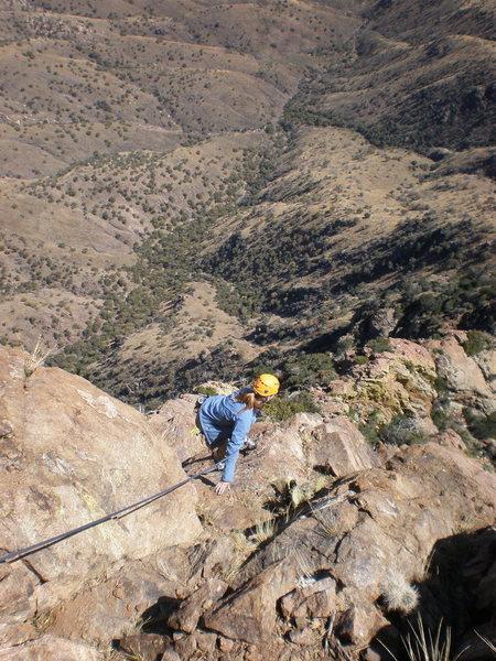 Climbing Baboquivari!