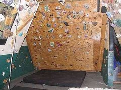 Rock Climbing Photo: Garage door