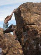 Rock Climbing Photo: Spring break Hueco Tanks trip. Thanks Murphy!