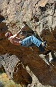 Rock Climbing Photo: Nate Bowe on 'The Wave', Tablelands