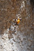 Rock Climbing Photo: A climb in the Box Canyon.